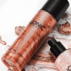 Iconic London Prep Set Glow Setting Spray